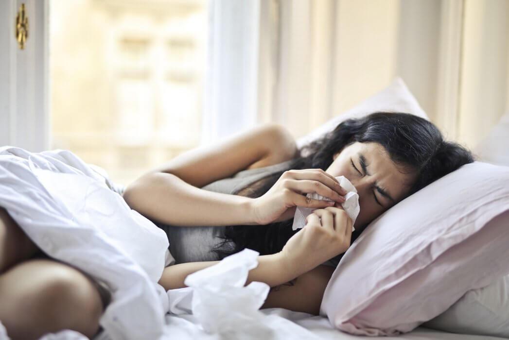 Symptome für Coronavirus, Grippe und Allergien